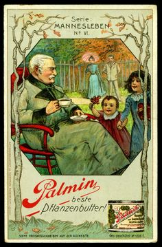 """Palmin Margarine """"A Man's Life"""" (series 1 issued c1903) #6"""