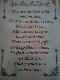 By Jean McGill Source: South Bay Scottish Society Outlander, Scottish Quotes, Irish Quotes, Scottish Gifts, Scotland History, Scottish Highlands, Scottish Clans, Scottish Gaelic, Thing 1