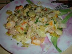 Haddock, poireaux, pommes de terre