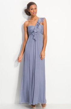 I adore this bridesmaid dress if long is the ultimate look!