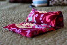 Simple scented heating pad. Next on my list of sewing projects for sure!