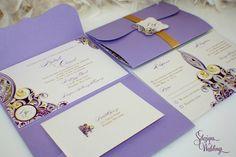New to SDezigns on Etsy: Gorgeous Pattern Wedding Invitation (7.50 USD)