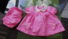 Puppenkleidung-Puppenkleid-Kleid-Hoeschen-Schildkroetpuppe-80-cm