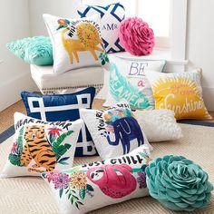 Coastal Inspiration Pillow Cover #pbteen