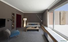 Isabel López Vilalta + Asociados designed the 'Suites Hotel Le Méridien' in Barcelona, Spain. http://en.51arch.com/2013/08/i0101-suites-hotel-le-meridien/