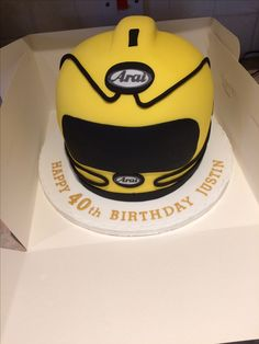 Isle of Man TT Race birthday cake Cakes at Rachels creations