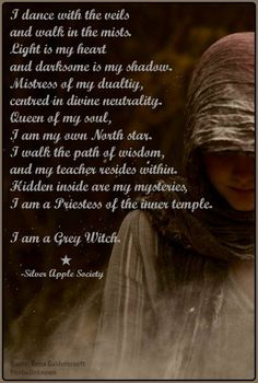 Gray grey witch witchcraft magick