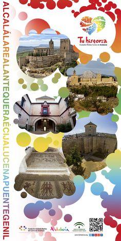 u historia refuerza la promoción de su oferta turística global #AlcaláLAreal, #Antequera, #Écija, #Lucena y #PuenteGenil en Andalucía (oriental y occidental) con la vista puesta en el verano. Hoy estamos en #Almería. Os esperamos!