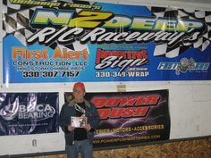 The Hooter Chassis Outlaw Tour made our 9th stop of the season at N2Deep Raceway in Newton Falls OH on Feb 23rd. Dale Reiser took over the points lead with his win in 21.5 Late Model while Kevin Brocki led the field in 17.5 Sportsman Truck. Dave Ward did double duty with wins in both 17.5 Open and 13.5 Open. Garrett Allan continued his dominance in 17.5 EDM and Logan Nemeth expanded his points lead in Legends. Dale Rodgers was the lucky winner of the Boca Bearings gift certificate. Our ne