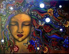 Springtime goddess Lilith By Mara Diop