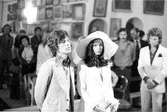 Mick Jagger y Bianca Jagger