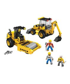 Another great find on #zulily! Road Building Unit Set by CAT #zulilyfinds