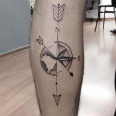 rosa dos ventos tattoo - Pesquisa Google
