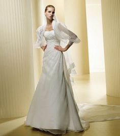 http://www.okdressesonline.com/organza-long-sleeves-wedding-dresses-fit-a-line-chapel-p-1732.html  $185