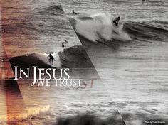 In Jesus we trust, by Tom Veiga O mar e as ondas, by Tom Veiga! http://www.sala7design.com.br/2012/03/o-artista-tom-veiga-30-anos-casado-e.html