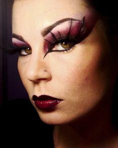 Color me inspired...: Dark Angel Halloween Makeup