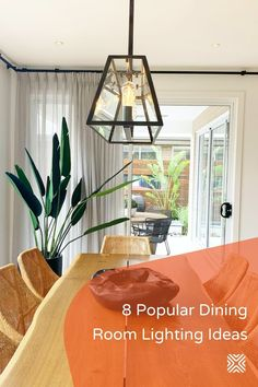 Having the perfect lighting design is crucial for a dining room! And we've listed eight clever lighting ideas to help you achieve the perfect dining room lighting, so here we go! Dining Room Light Fixtures, Kitchen Lighting Fixtures, Outdoor Light Fixtures, Dining Room Lighting, Dining Room Colors, Dining Room Wall Decor, Room Lamp, Cool Lighting, Lighting Ideas