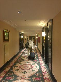 The hallways of the Westin Palace Madrid Hallways, Palace, Madrid, Portugal, Spain, Home Decor, Foyers, Decoration Home, Room Decor