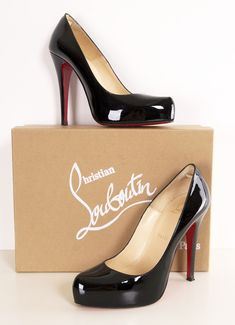 CHRISTIAN LOUBOUTIN HEELS. I don't care about the specific brand, but I like that these are stylish without a huge platform.