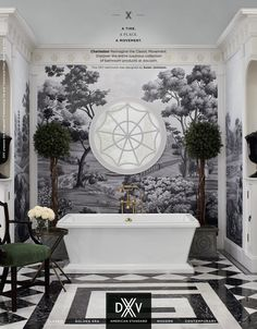 """As American Standard entered its fifteenth decade of business, they proudly launched their DXV by American Standard line. DXV fixtures and fittings for Bath and Kitchen are """"inspired by histo… Bath Trends, Bathroom Trends, Beautiful Bathrooms, Modern Bathroom, White Bathroom, Estilo Colonial, Bathroom Interior Design, Kitchen And Bath, Decoration"""