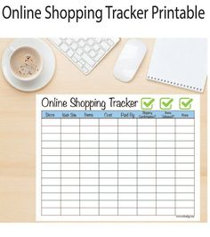 Just yesterday my teen asked me , Mom did my eBay order come in?. I had to pause - I had completely forgotten we had ordered something! I had to track it down and see if a shipping confirmation had been sent and when it would arrive.  Its easy to get lost in online orders. Its even easier to blow the budget too!  This handy online shopping tracker will help you keep track of who you ordered from, what you ordered, how much it cost, how you paid, if a shipping confirmation was sent and if it…