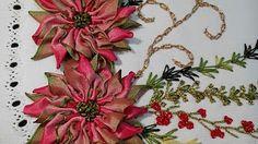 TORTILLERO BORDADO NAVIDEÑO (Embroidered Tortilla Container Christmas) - YouTube