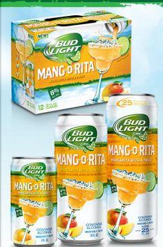 Bud Light MANGO-Rita is coming! yum!