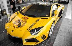 Real Madrid: Découvrez la Lamborghini de la « Decima » | Sportune