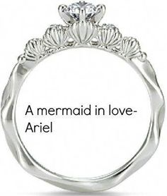 aec204377f6 CAGED CANARY - Ariel Engagement Ring I LOVE THIS! I'm super into pearls