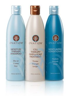 The Moisture System contains the Moisture Therapy Shampoo to gently cleanse, Cell Therapy to treat and the Moisture Conditioner to hydrate strands for thicker, stronger, longer hair.