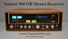 SANSUI 990DB Black Edition