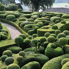 Topiary garden.  Marqueyssac
