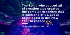 Adorers provincial Sr. Barbara reflects on the #NewYear  #quote #faith #2015 #newyear #chooselife #christian #religious #adorers