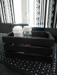 Tee-se-itse-naisen sisustusblogi: Spray-painted Wooden Storage Box