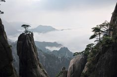 Sea of Clouds, Huangshan Mountains, China