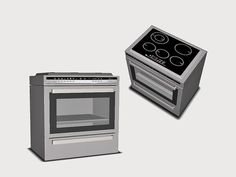 Ung999 - Appliance_Stove 01