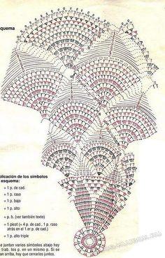 See how beautiful this dress for girls crochet yarn store - FREE PATTERNS Filet Crochet, Crochet Doily Diagram, Crochet Mandala Pattern, Crochet Chart, Thread Crochet, Crochet Stitches, Crochet Patterns, Easy Crochet, Crochet Tablecloth Pattern
