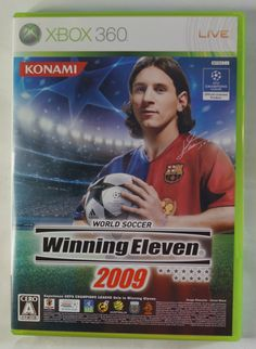 X-Box 360 Japanese :  Winning Eleven 2009 UXC 00002 ( VK018-J1 ) http://www.japanstuff.biz/ CLICK THE FOLLOWING LINK TO BUY IT ( IF STILL AVAILABLE ) http://www.delcampe.net/page/item/id,0362020870,language,E.html