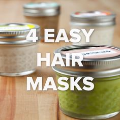 4 Easy Hair Masks