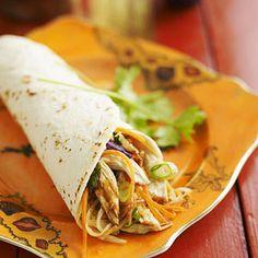 Easy School Lunch: Moo-Shu Chicken #backtoschool