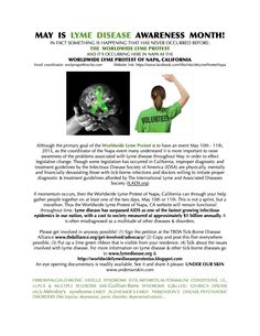 California Lyme WWP Protest