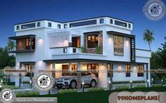 Beautiful Houses In Kerala Below 20 Lakhs & 100+ Double Storey Plans