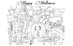 Halloween Coloring Page Valentine#583 - http://coloringonweb.com/2014/11/halloween-coloring-page-valentine583-9459/