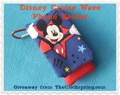 Hold your Disney Wave Phone in a Wavekeeper -  win one today!
