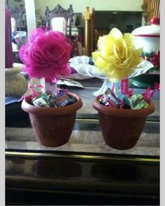 With some school districts starting school this week and the rest starting next week, here is a cute and inexpensive idea for a welcome back to school gift for the teacher or teacher appreciation gift. Using a Thirty-One Nail File (item # 3009) and a Thirty-One Rosette (item # 3353), create a flower planted in a small flower pot with candy as the soil!! Such a CUTE idea!!!  Thank you, Rita for finding this on Pinterest for me!!  www.mythirtyone.com/michelemcgarry