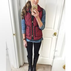 Love this look. Need a good denim shirt. Mine doesn't fit well and I am unable to alter it myself