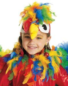 parrot headpiece - Google Search