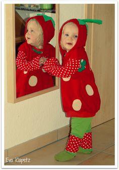 Doppelnaht: so eine süße erdbeere