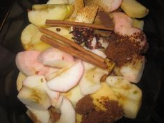 Crockpot Apple Cider (without adding apple cider)