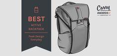 Carryology – best active backpack peak design everyday